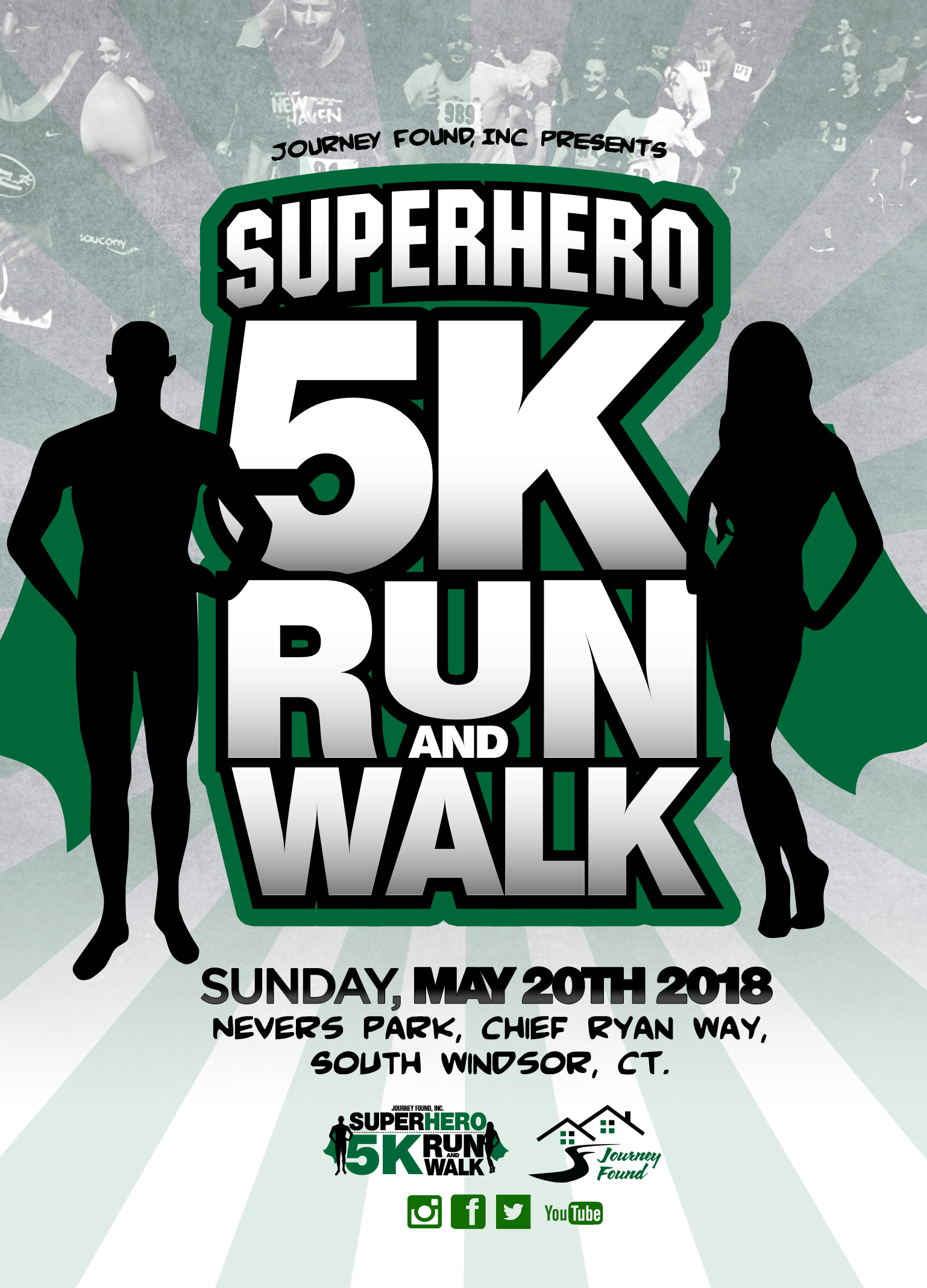 superhero 5k run walk for disabilities journey found